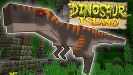 TAKING DOWN THE T-REX? - Dinosaur Island Pt. 2 - Minecraft - PE W10 XB1