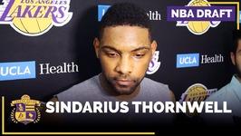NBA Draft Prospect - Sindarius Thornwell Lakers Interview - Guard, South Carolina