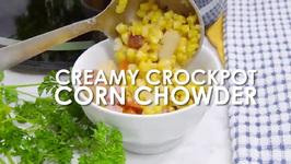 Creamy Crockpot Corn Chowder