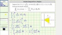 Evaluate Double Integral Of y/(1 x) Over Region Bounded By y-x And ysqrt(x)