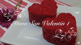Menu San Valentin  Arroz al Microondas  Recetas para San Valentin  Menu para San Valentin