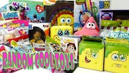 Unboxing Random Cool Toys Featuring Sponge Bob and Teen Titans Go
