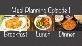 Meal Planning Ideas Episode 1 - Breakfast: Vegan Omelette - Lunch: Pasta - Dinner: Chole Puri