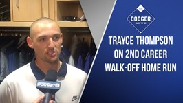 Trayce Thompson On 2nd Career Walk-Off Home Run