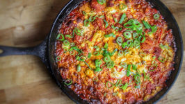 Smoked Menemen With Sucuk And Feta