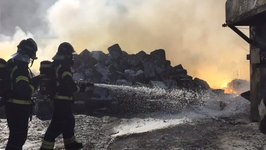 Industrial Fire in Madrid Produces Toxic Cloud of Magnesium