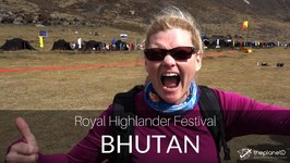 We Met the King of Bhutan - New Cultural Festival in 4K