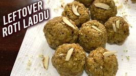 Leftover Roti Laddu / How To Make Roti Churma Ladoo / Quick Sweet Recipe Chapati Ladoo By Ruchi