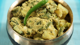 Jhinge Aloo Poshto - How To Make Jhinge Aloo Poshto - Masala Trails With Smita Deo
