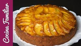 Tarta de manzana casera muy fácil- Bizcocho con manzana