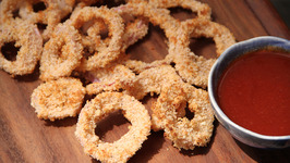Crispy Baked Onion Rings - My Recipe Book By Tarika Singh