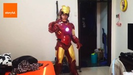 Man Crafts His Own Iron Man Costume