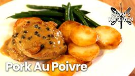 Broke Ass Gourmet / Pork Au Poivre / 2.50 Per Serve