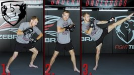 3 MMA Combos - Striking, Takedowns And Chokes