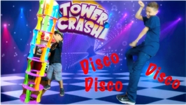 Damian's Dance Moves! (Tower Crash Game)