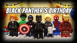 Lego Avengers - Black Panther's Birthday