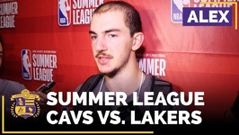 Alex Caruso On The Lakers Signing Him To A Two-Way Contract