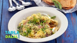 Samosa Chaat-Quick Veg Snack