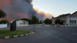 Roads Cut Off and Villages Evacuated Due to Wildfires in Central Portugal