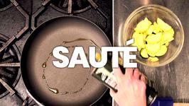 Saute: The Kitchen Lingo Definition