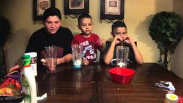 SMOOTHIE CHALLENGE with Damian and Deion