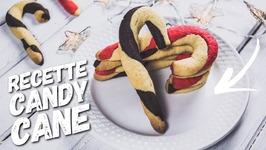 Recette Noel Biscuit Candy Cane Vanille Et Chocolat Facile Et Rapide