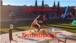 GINGERBREAD HOUSE DEMOLITION
