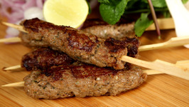 Mutton Seekh Kebab - Kebabs on Skewers - Easy Recipe - The Bombay Chef- Varun Inamdar