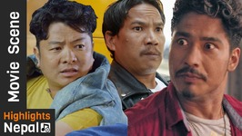 Best Of Actor Buddhi Tamang's Comedy Movie Scenes 2017/2074