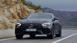 The New Mercedes AMG GT 63 S 4MATIC  4 Door Coupe Driving Video