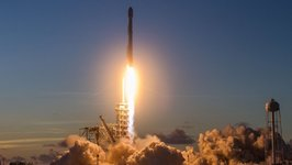 SpaceX Launches EchoStar Satellite From NASA's Kennedy Space Center