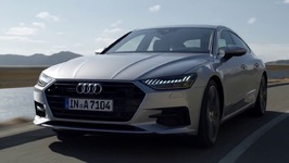 Audi A7 Sportback Driving Video