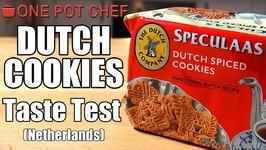 Taste Test - Dutch Spiced Cookies (Netherlands)