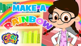 DIY RAINBOW - Make Your Own Rainbow - The Nikki Show - Science for Kids - Cartoons for Kids