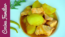 Marmitako de salmón con aroma de romero - Recetas de cocina