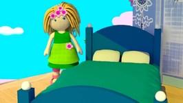 Dollhouse for kids- Doll Bedroom furniture.
