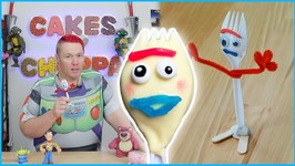Forky Cake Pop - DIY Toy Story Figure (How To)