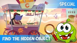 Find the Hidden Object Ep 14 - Om Nom Stories- Sweet Duel