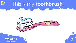 This Is My Toothbrush - Home Vocabulary And Pattern Practice For Kids
