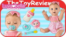 Luvabella Responsive Baby Doll Blonde Hair Hot Christmas Robot Unboxing Toy Review