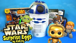 Star Wars Toys Unboxing With Star Wars Play-Doh Surprise Egg And Star Wars Rebels Toys