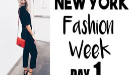 New York Fashion Week  DAY ONE!