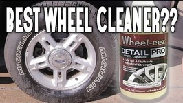 BEST WHEEL CLEANER SPRAY FOR YOUR CAR- WHEEL-EEZ DETAIL PRO WHEEL CLEANER REVIEW