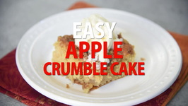 Easy Apple Crumble Cake