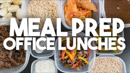 MEAL PREP -Delicious Office Lunches
