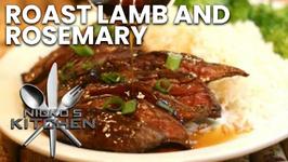 Roast Lamb And Rosemary