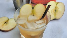 Apple Maple And Bourbon Cocktail