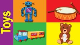 Toys English Words - Toys Vocabulary