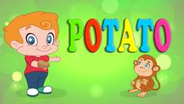 Potato- Vegetable Song- Original Learning Song for Kids