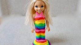 Play-Doh Doll Rainbow Girl